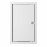 Люки-дверцы ревизионные с замком и фланцем серия ЛЗ