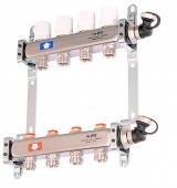 Коллекторная группа с регулировочными вентилями