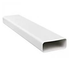 Воздуховод прямоугольный 55х110, L=0.5м ПВХ