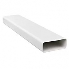 Воздуховод прямоугольный 55х110, L=1м ПВХ