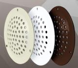 05DP Al Brown, Решетка вентиляционная переточная алюминиевая с покрытием полимер. эмалью D50, Brown