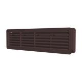 4513ДП кор, Решетка вентиляционная переточная полипропилен 450х131, коричневая