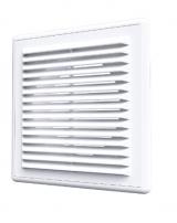 1515R10F, Решетка вентиляционная приточно-вытяжная 150х150 с фланцем D100