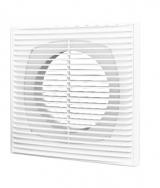 1515П10Ф, Решетка вентиляционная приточно-вытяжная АБС 150х150 с фланцем D100