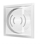 1515РС10Ф, Решетка вентиляционная приточно-вытяжная АБС 150х150 с фланцем D100