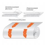 Порилекс НПЭ ЛП тип А 3х500х6 (теплоизоляция)