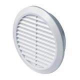 Решетка вентиляционная Awenta T-23, D=150 мм, цвет белый
