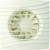 SILENT 4C Ivory, Вентилятор осевой вытяжной с обратным клапаном D 100, декоративный