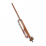 Нагревательный элемент RCF 2500 Вт, резьба M8 под анод, фланец 48 мм, медный, трубка термостата 450 мм 3401030