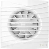 SILENT 4C MR,Вентилятор осевой вытяж. мультиопцион. с контроллером Fusion Logic 1.0, обр.клапан D100