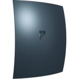 BREEZE 4C Gray metal, Вентилятор осевой вытяжной с обратным клапаном D 98, декоративный