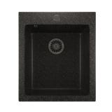 Мойка ML-GM14 черная (308), 420*495*190мм