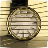SILENT 4C Gold, Вентилятор осевой вытяжной с обратным клапаном D 100, декоративный