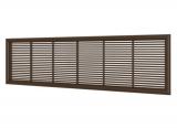 2307ДП кор, Решетка вентиляционная 227х67, коричневая
