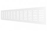 4810DP Al, Решетка переточная алюминиевая с покрытием полимерной эмалью 480x100