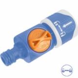 Адаптер - коннектор с ручным клапаном