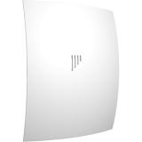BREEZE 4C Matt white, Вентилятор осевой вытяжной с обратным клапаном D 98, декоративный