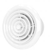 FLOW 5 C BB, Вентилятор осевой с обратн. клапаном, круглой решеткой, двигателем на ш/подшип D 125