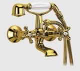Смеситель для ванны FRAP Sofia Gold