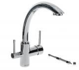 Смеситель для кухни с возможностью подключения фильтра питьевой воды.