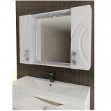 Зеркальный шкаф Mirella 100
