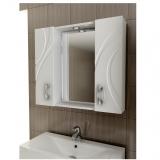 Зеркальный шкаф Mirella 80