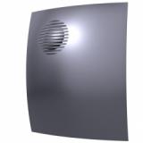 Вентилятор D100 PARUS 4С DARK GREY METAL   с обратным клапаном