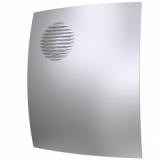 Вентилятор D100 PARUS 4С GRAY METAL  с обратным клапаном