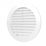 12РКН, Решетка наружная вентиляционная круглая D150 с фланцем D125, ASA