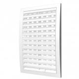 1825РРПН, Решетка вентиляционная наружная, регулируемая, разъемная 180x250, ASA-пластик