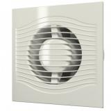 SLIM 4C Ivory, Вентилятор осевой вытяжной с обратным клапаном D 100, декоративный