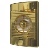 STANDARD 4С Gold, Вентилятор осевой вытяжной с обратным клапаном D 100, декоративный