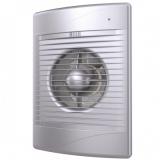 STANDARD 4С gray metal, Вентилятор осевой вытяжной с обратным клапаном D 100, декоративный