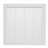 Решетка вентиляционная Awenta TRU10, 300х300 мм, цвет белый