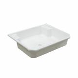 Мойка пластиковая 41х49,5 вып 1 1/2 (полипропилен)