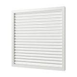 П60150Р, Решетка вентиляционная, профиль ПВХ, 600х1500, белая