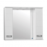Ирис зеркало-шкаф  900/С  (830*900*160)