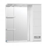 Ирис зеркало-шкаф  750/С  (730*750*234) ВЕНГЕ СВЕТЛЫЙ