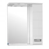 Ирис зеркало-шкаф  650/С  (730*650*234)
