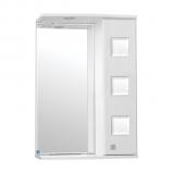 Крокус зеркало-шкаф  600/С  (730*600*234)БЕЛЫЙ