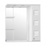 Крокус зеркало-шкаф  750/С  (730*750*234)БЕЛЫЙ
