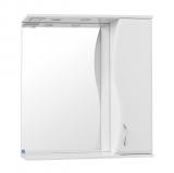 Зеркало-шкаф Панда 550/С  (816*550*200) ВОЛНА