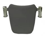 Подголовник Royal Bath Tudor SY-2B на металлических ножках (серый)