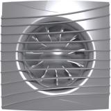 SILENT 4C gray metal, Вентилятор осевой вытяжной с обратным клапаном D 100, декоративный