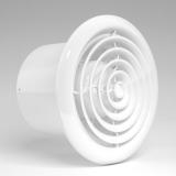 RF 150S C, Вентилятор осевой вытяжной c антимоскитной сеткой, обратным клапаном D 150