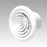 Вентилятор D125 FLOW 5 с кругл решеткой на ш/подшипнике