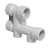 Блок распределительный для систем водоснабжения