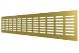 4810DP Al Сhampagne, Решетка переточная алюминиевая с анодированным покрытием 480x100, Сhampagne